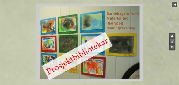 prosjektbibliotekar